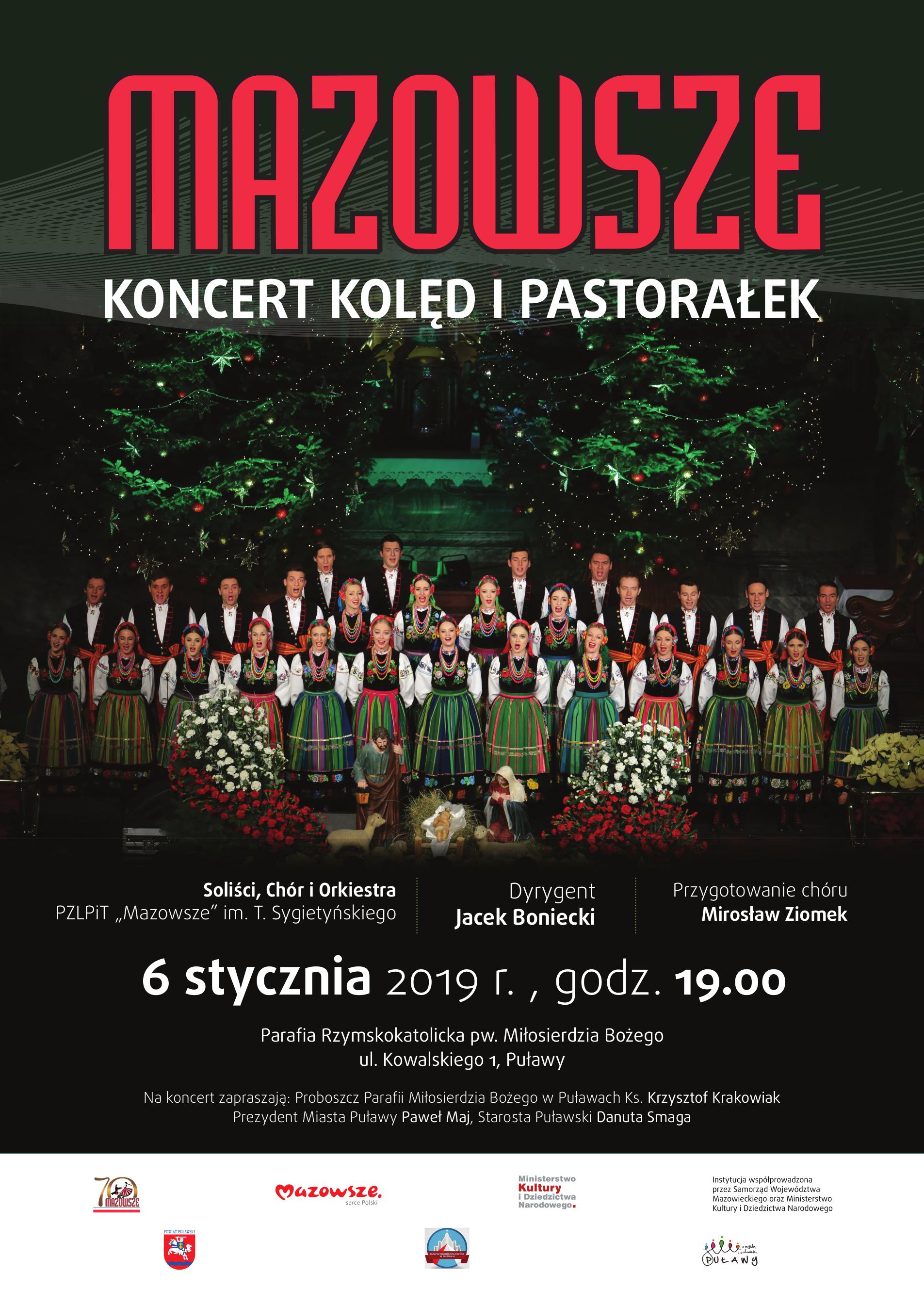 Koncert Kolęd i Pastorałek Mazowsze